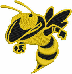 HORNET EMBROIDERY EMB138