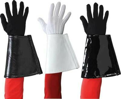 IN STOCK  TRADITIONAL MARCHING BAND GAUNTLETS