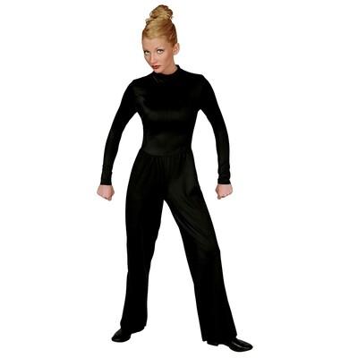 Black Lycra Jumpsuit Closeout