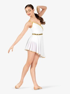 DANCE COSTUME GRECIAN CAMISOLE DRESS