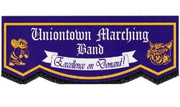 CUSTOM BANNER - UNIONTOWN MARCHING BAND