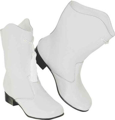 LEATHER MAJORETTE BOOTS