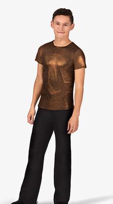 Men's Metallic Short Sleeve Shirt