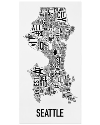 Seattle Neighborhoods (Large)