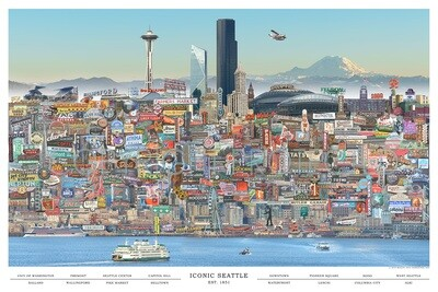 City Iconic Seattle