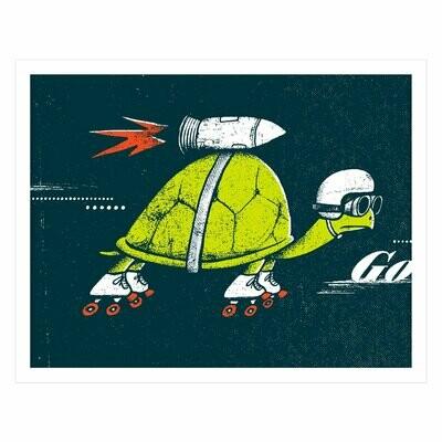 Rocket Turtle