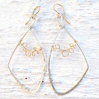 Vine Lace Earrings