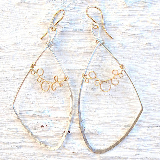 Vine Lace Earrings