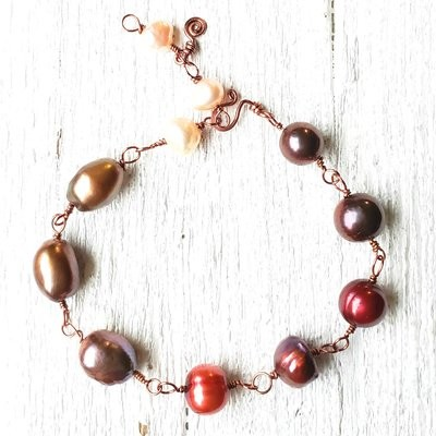 Growing Pearl Bracelet