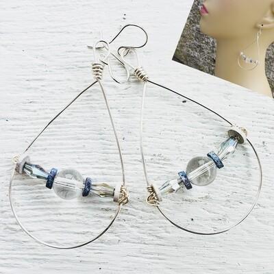 True Blue Earrings
