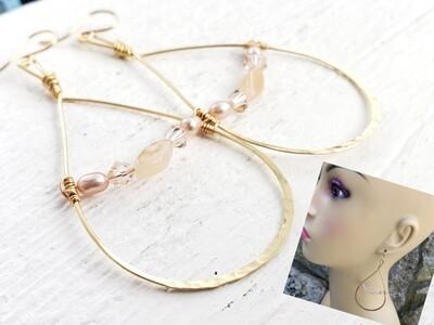 Peachy Keen Earrings