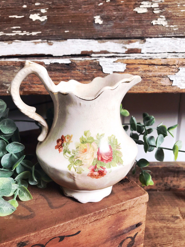 Beautiful Small floral Pitcher