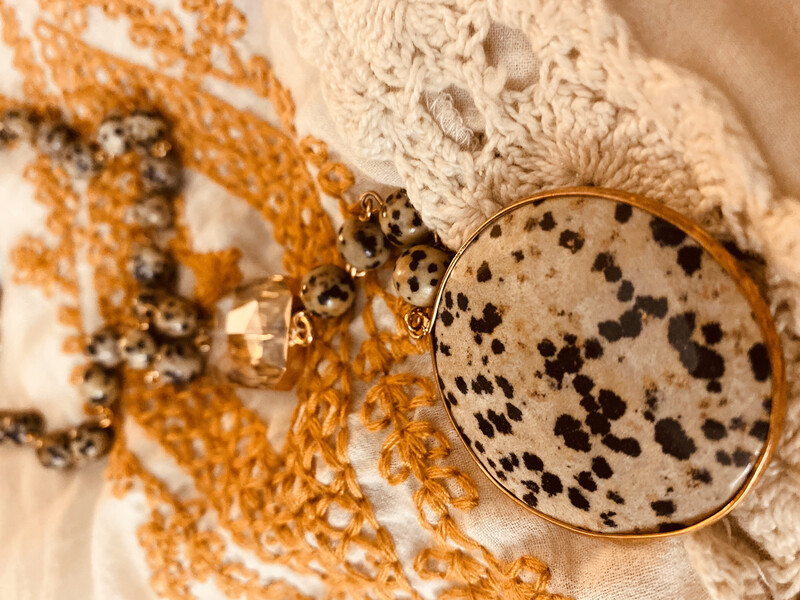 Authentic Stone Necklace