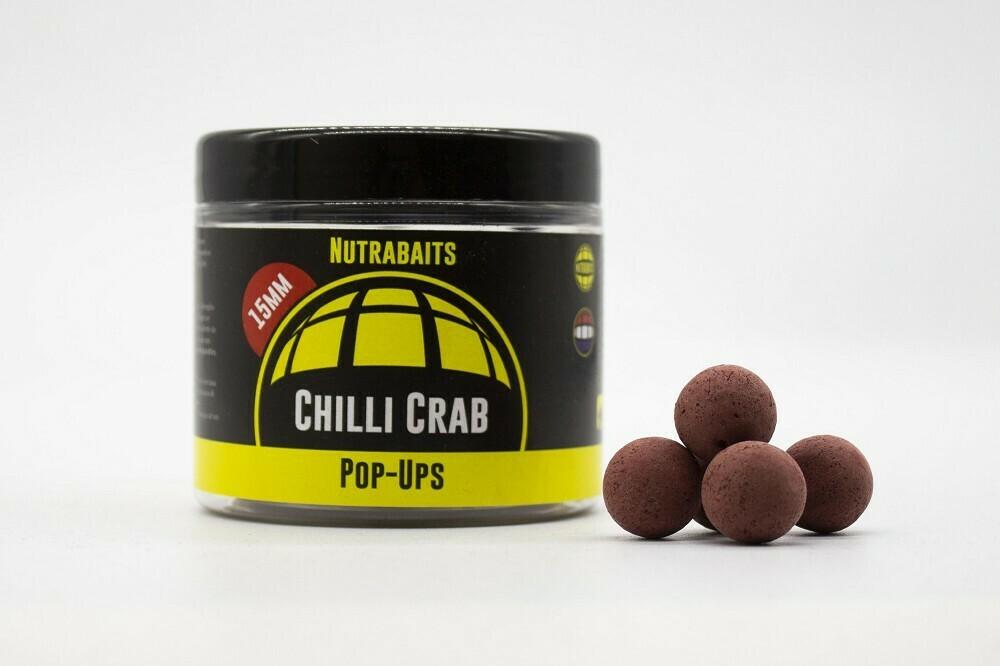 Бойлы плавающие Shelf-Life Pop-Ups Chilli Crab (Перец и Краб)