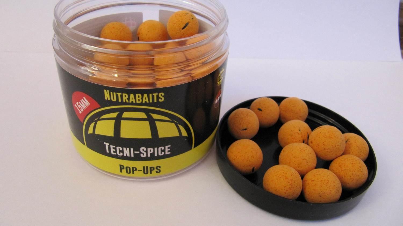 Бойлы плавающие Shelf-Life Pop-Ups Tecni-Spice