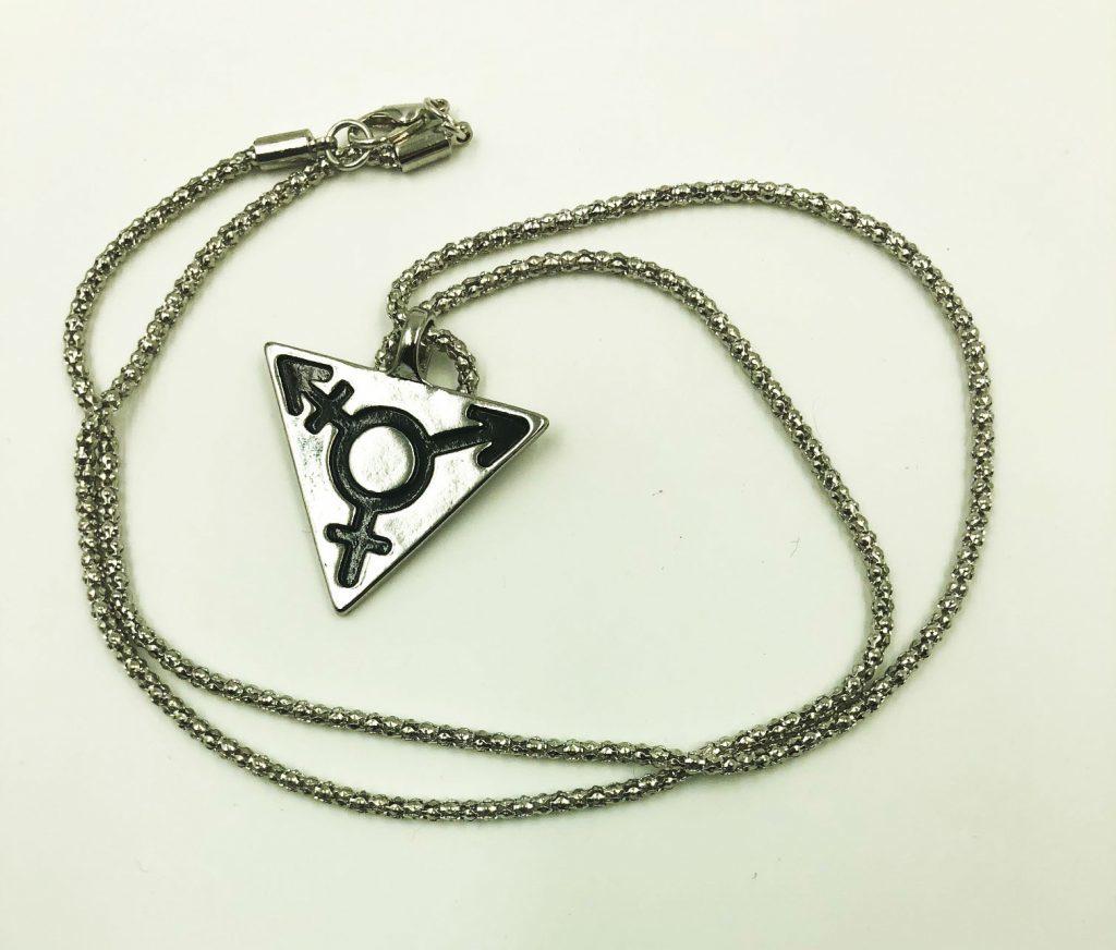 Transgender Symbol Necklace 10071