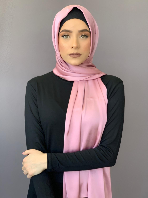 Luxury Satin Blush Pink