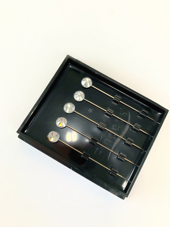 Boxed Pins Silver