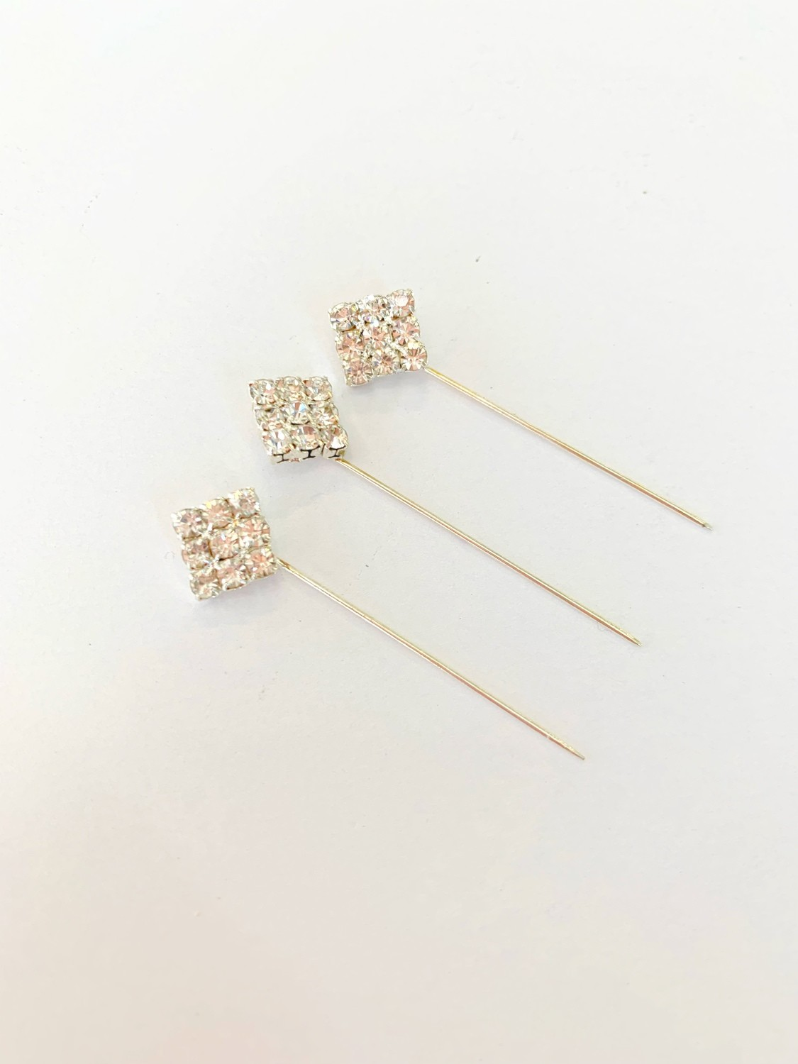 Diamond Shape Pins Pack of 12