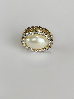 Silver Oval Magnet