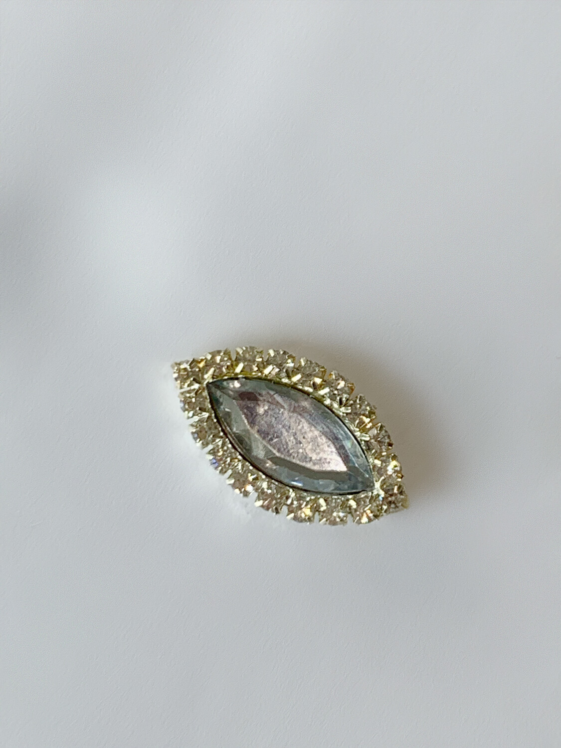 Silver Marquise Shape Magnet