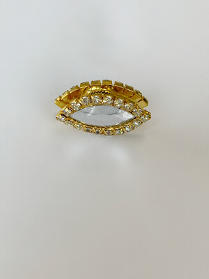 Gold Marquise Shape Magnet