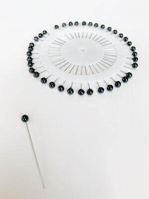 Black Hijab Pin Wheel