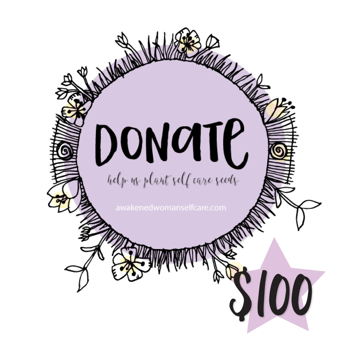 Donate to the podcast and help seed sacred self care in others