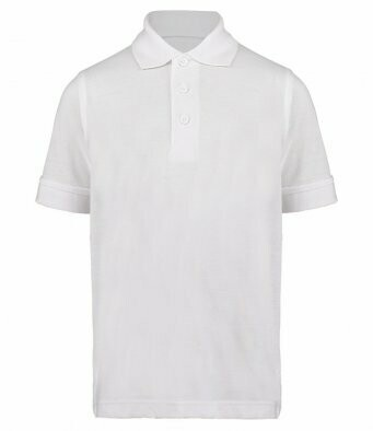 Polo shirt 1 colour embroidered logo to left breast