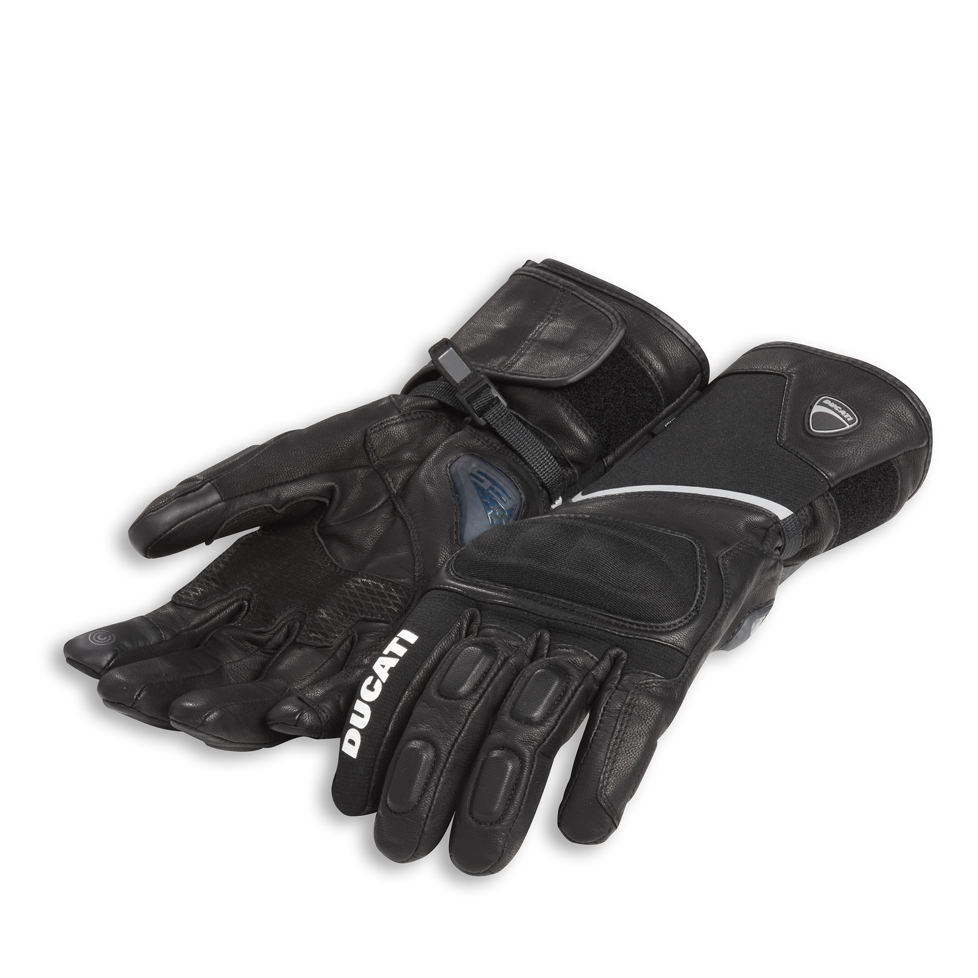 Tour C3 Fabric-leather gloves 981037082