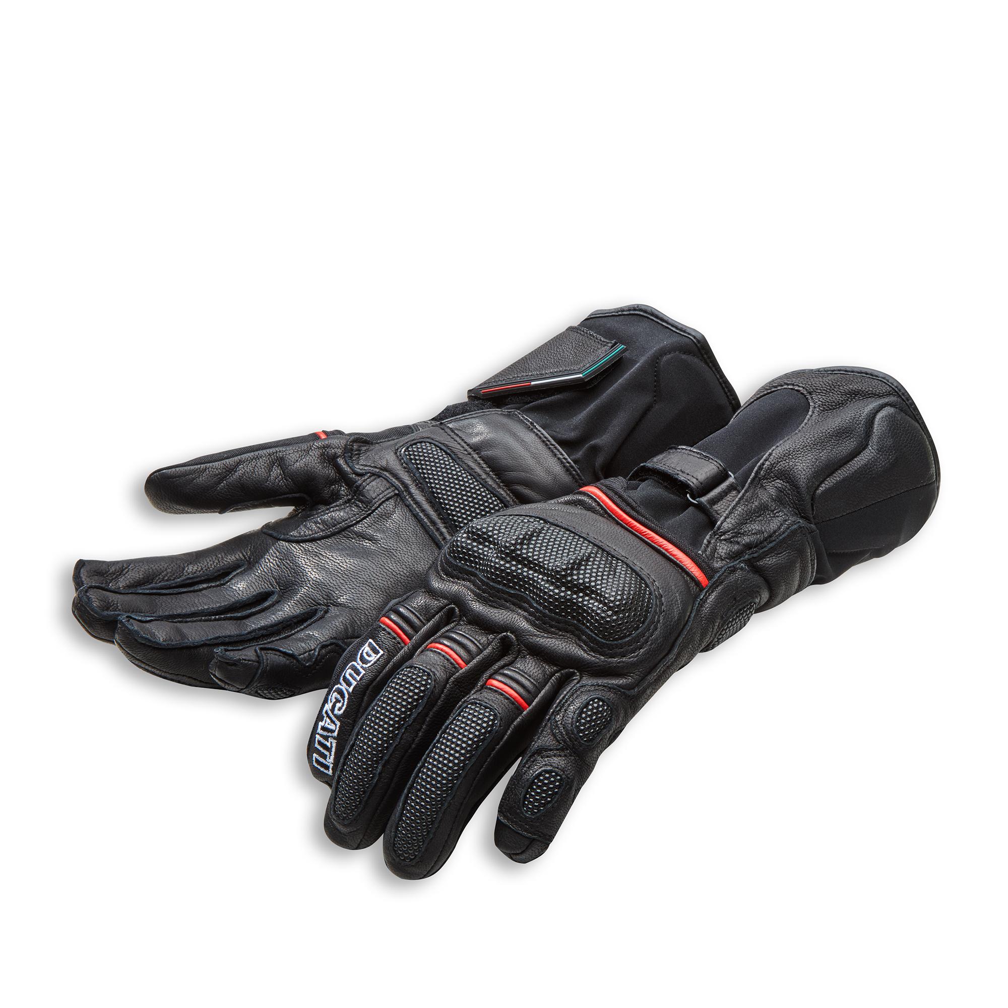 Strada C4 - Fabric-leather gloves 981040072