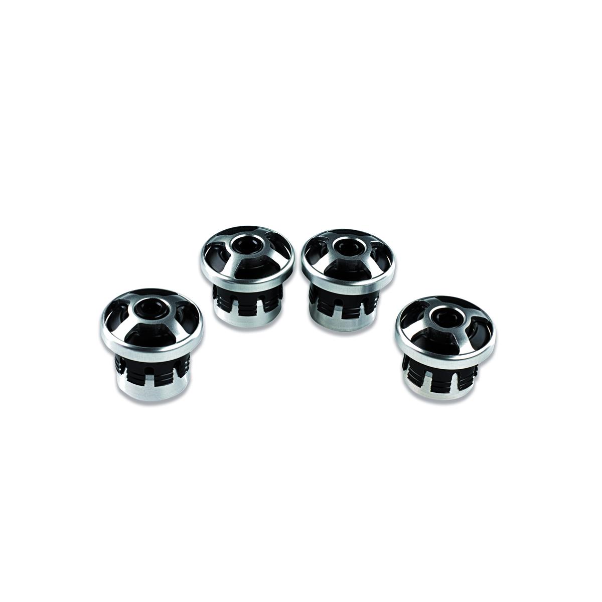 Billet aluminium frame plugs. 97380281B