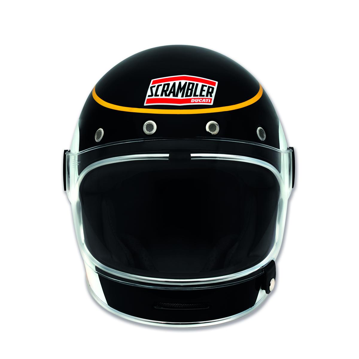 Black Track - Full-face helmet