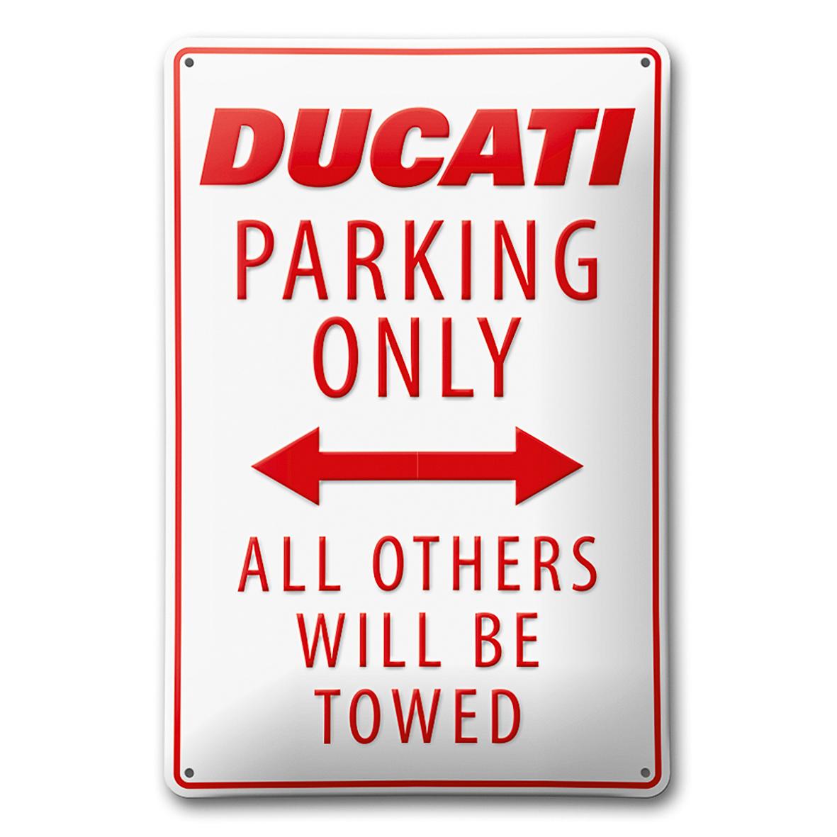 Ducati Parking - Metal plate 987694028