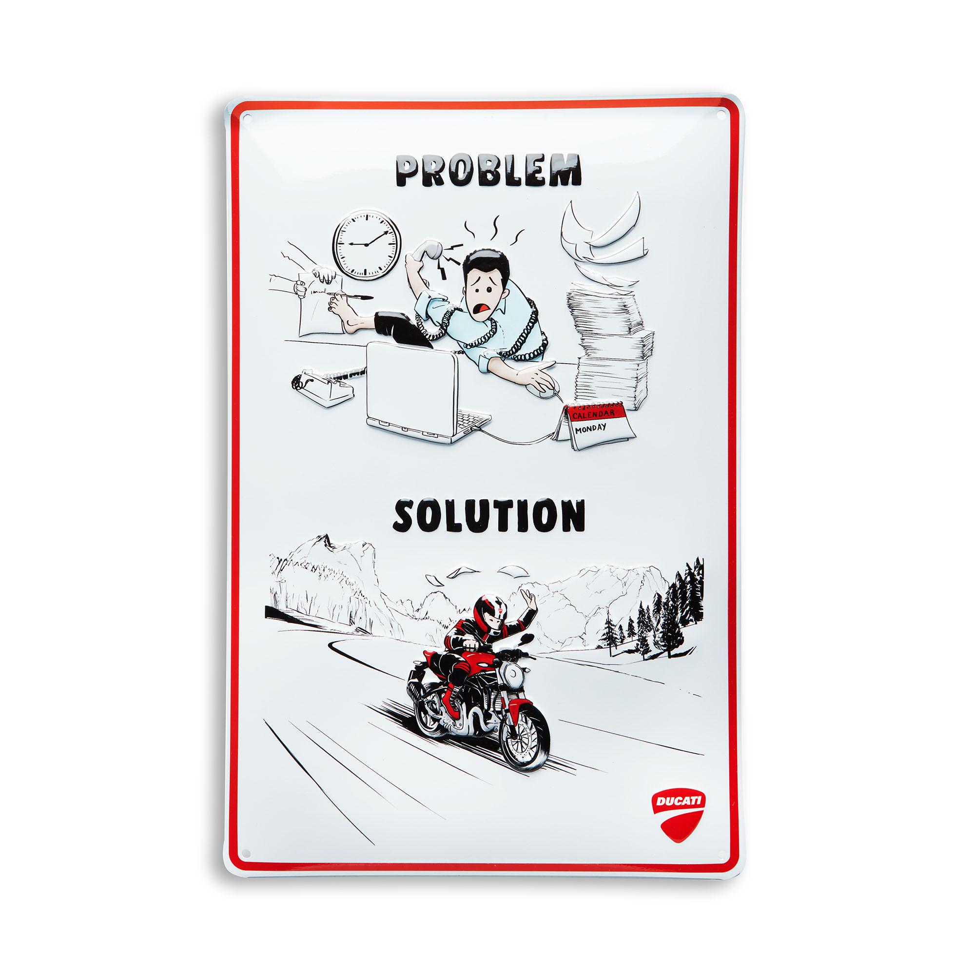 Ducati - Metal plate 987699451