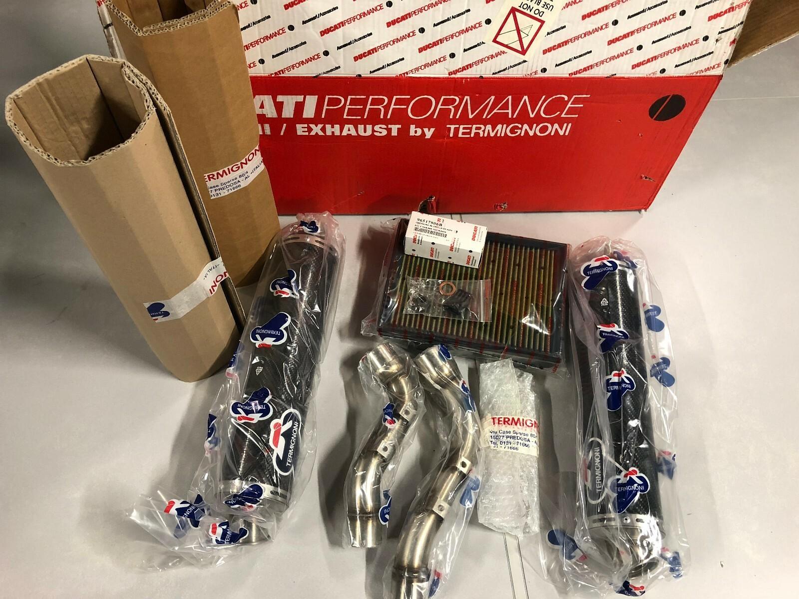 Termignoni Carbon eksos til Ducati Monster S4RS 96448606BC