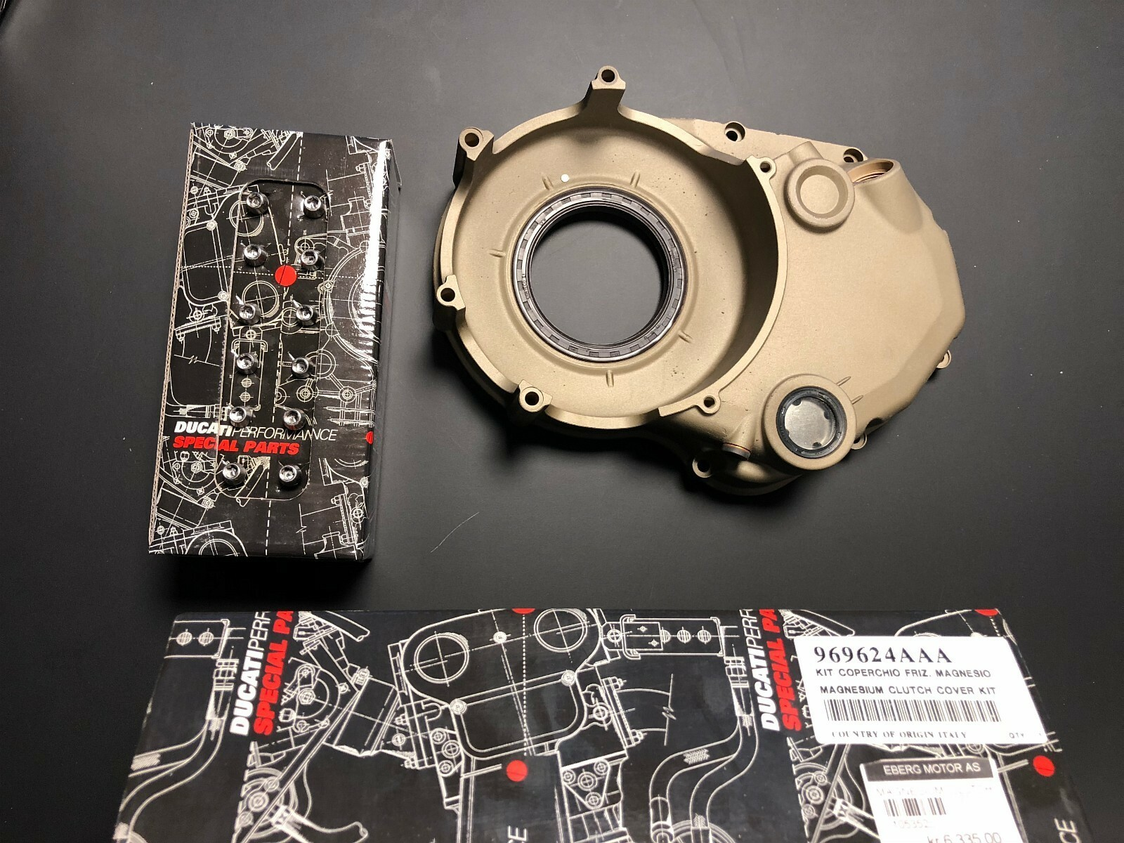 Magnesium clutch cover ​969624AAA