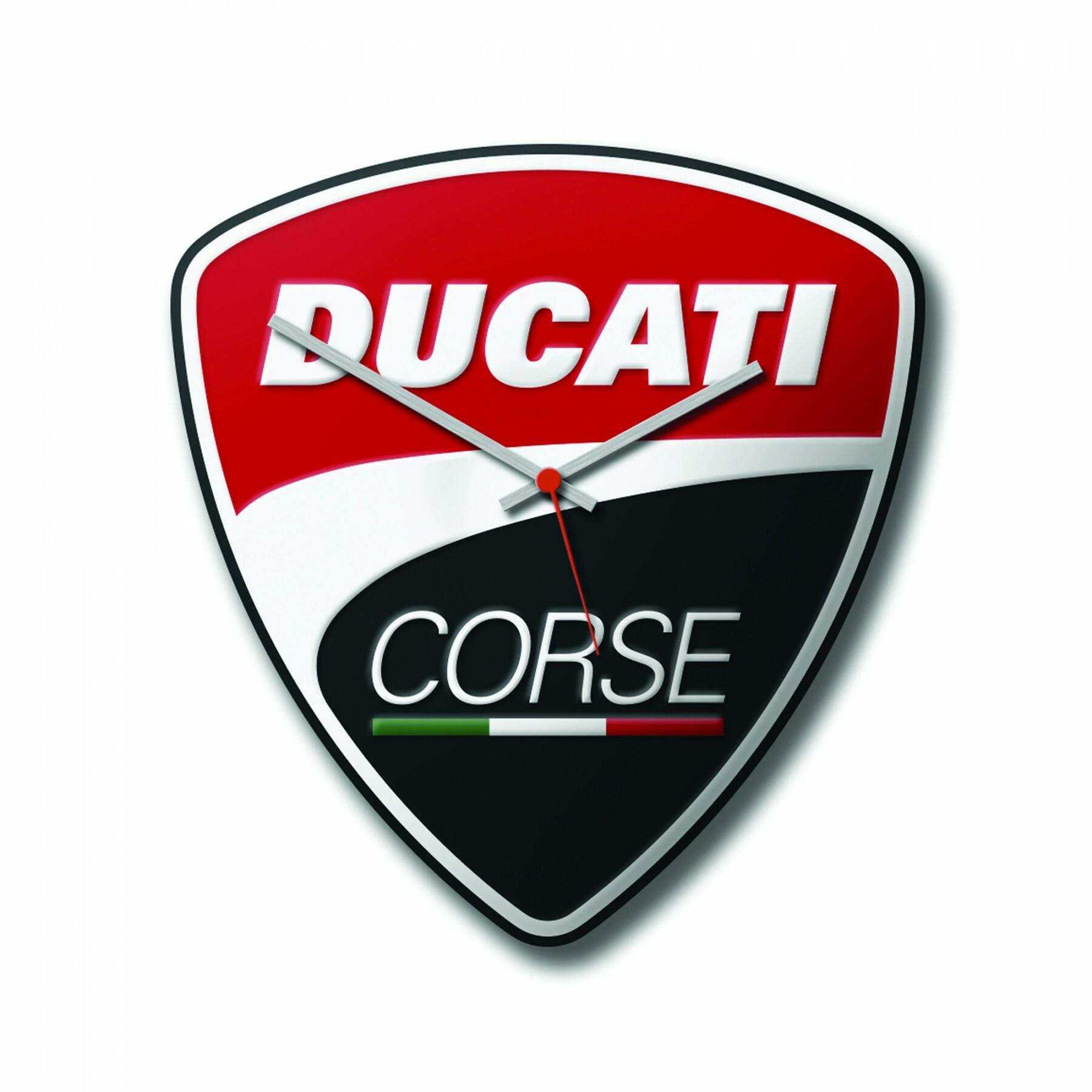 Wall clock Power Ducati Corse 28x30 cm 987699491