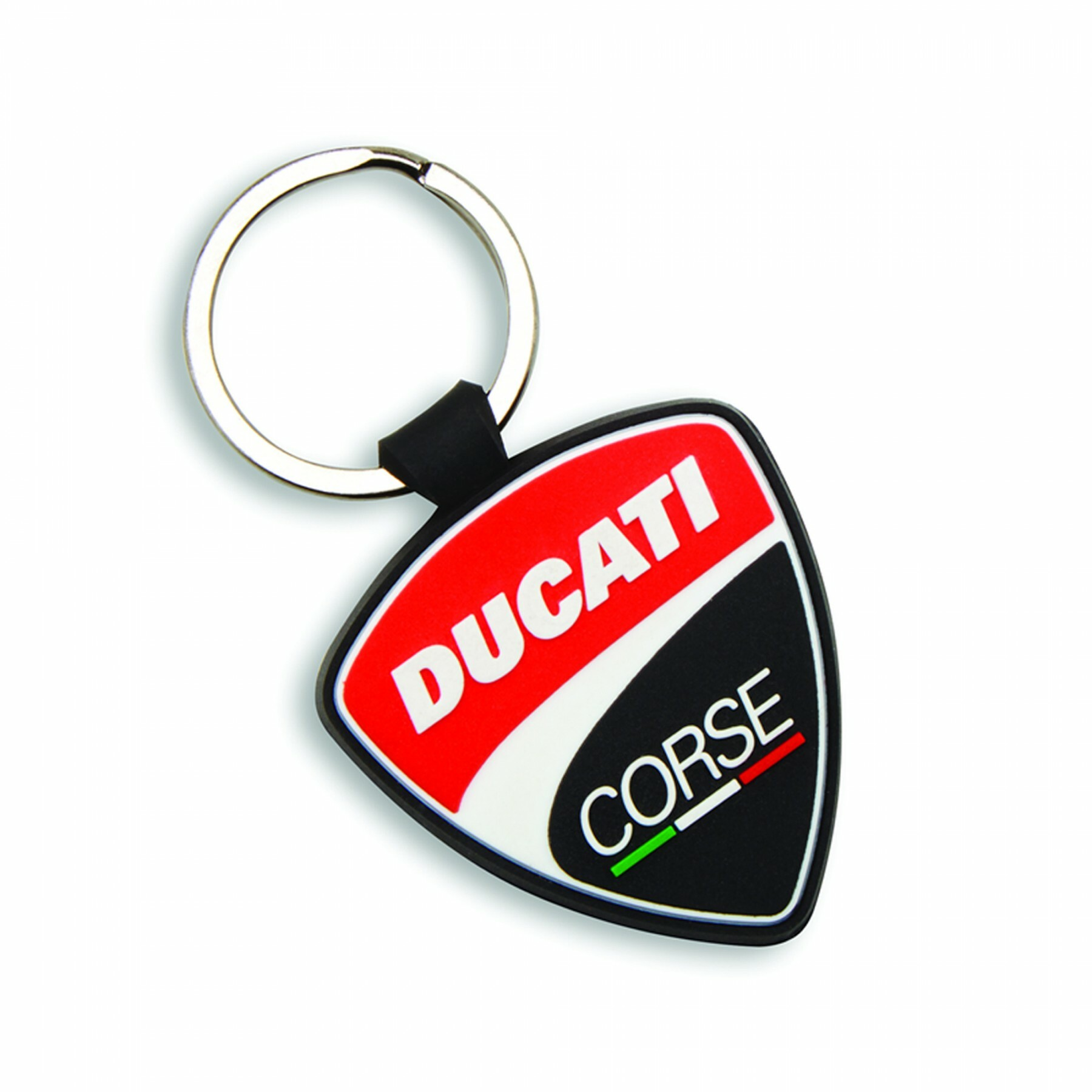 Rubber Key Ring Ducati Corse Shield 987698040
