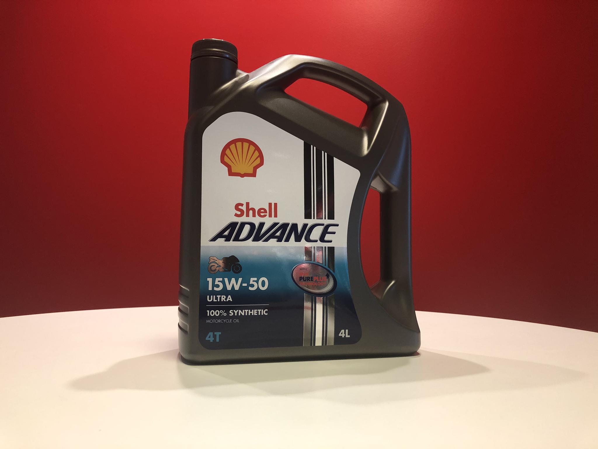Shell Advanced Ultra 4T 15W-50 4L 2018129