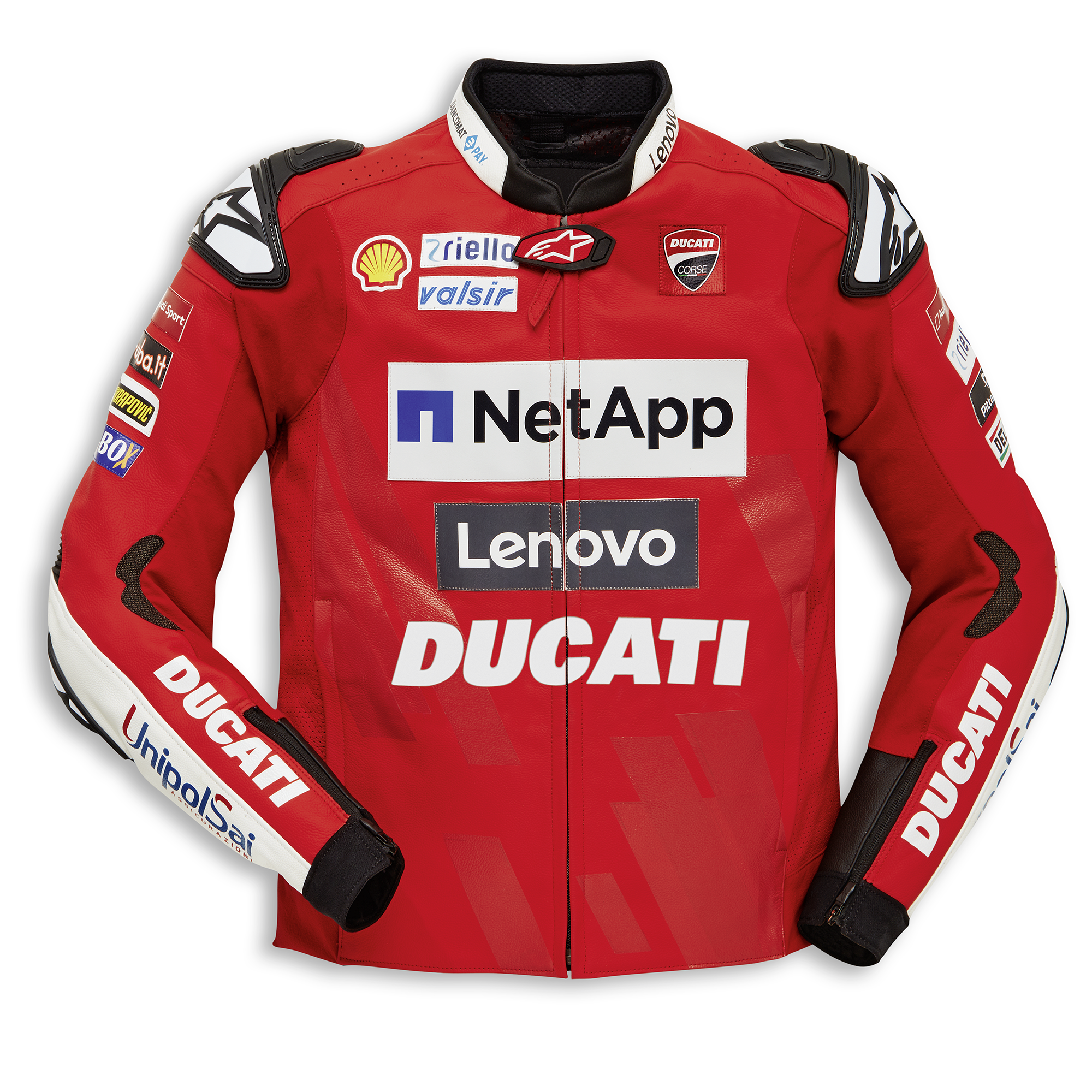 Replica Ducati Team 19 - Leather jacket 9810712