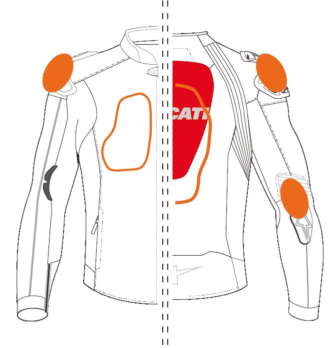 Replica Ducati Team 19 - Leather jacket