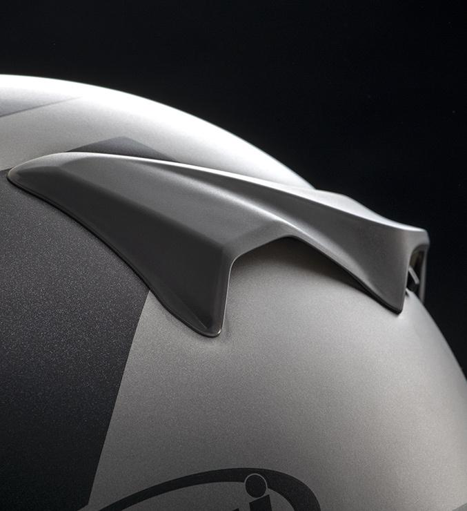 Black Steel - Full-face helmet