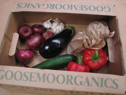 Mediterranean Vegebox (medium or large available)