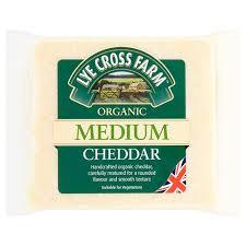 Cheese - Lye Cross Medium Cheddar 245g