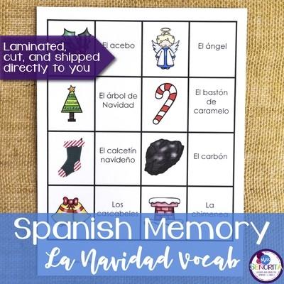 Spanish Memory - Christmas