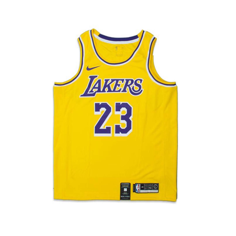 hot sale online e4e02 10cf1 LA Lakers Lebron James Nike Jersey