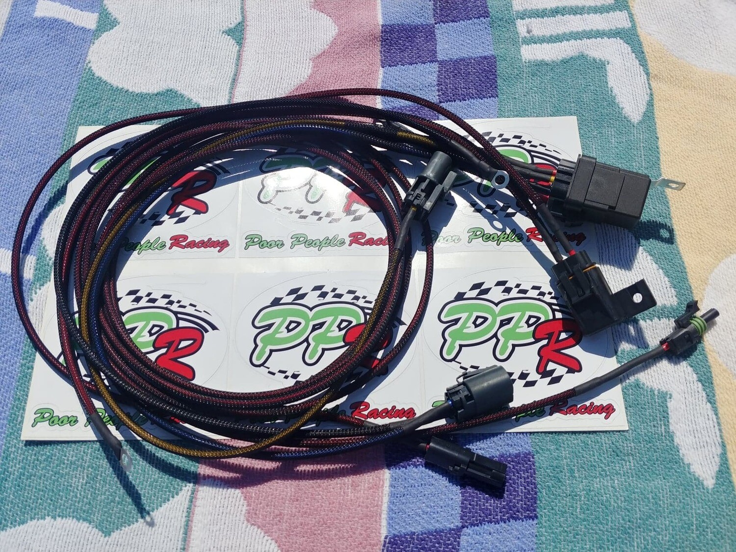 "Nissan Skyline R32 GTR plug and play Fuel pump ""Hotwire"" harness"