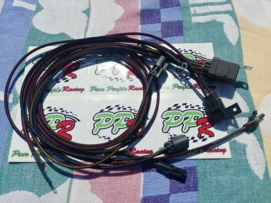 "Nissan Skyline R33 GTR GTS25t and GTS model plug and play Fuel pump ""Hotwire"" harness"