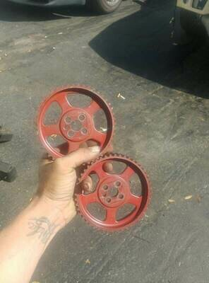 Rb20 Oem Cam gears (painted red)